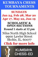 Chess Ed Spring 2016 Tournaments