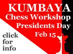 Kumbaya Chess Workshop 2/15/16