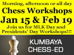 Chess-Ed Workshops