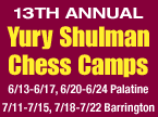 GM Shulman Chess Camp 2016