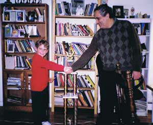 Sam Schmakel and Dmitry Gurevich, 2003
