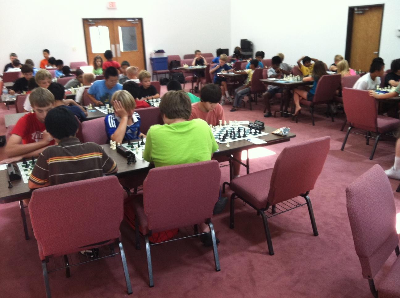 Tournament Hall at Northbridge Chess Camp